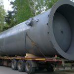 отгрузка ресивера для хранения азота
