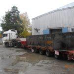 Отгрузка каркаса 1-го уровня ЗВН для Белоярской АЭС