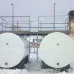 Монтаж баков-аккумуляторов для горячей воды