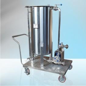 Передвижная емкость для спиртосодержащих растворов